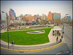 Vista de la Comuna de Vitacura - Santiago de Chile (Victorddt) Tags: chile photoshop sonycybershot santiagodechile vitacura regiónmetropolitana dsch55