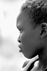 Ethiopia : Soudanese Nuer teenager girl (foto_morgana) Tags: africa portrait people woman face female outdoors mujer native african character femme traditional tribal lips afrika omovalley ethiopia frau tribe ethnic nikoncoolscan analogphotography vrouw ethnicity afrique blackwoman ethiopian blackwhitephotography femelle etnia traditionnel vrouwelijk persoonlijkheid faceinprofile karakter analogefotografie vuescan traditioneel nomodelrelease ethnie ethiopi caractre photographienoiretblanc kroeshaar uduk zwartwitfotografie profilehead kodaktmax400cn afrotexturedhair omovallei valledelomo photographieanalogue editorialonly etniciteit vallebajodelomo