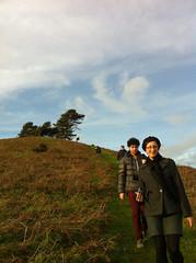 Walking down that hill