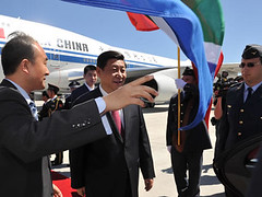 Vice President of China arrives in South Africa, 16 Nov 2010