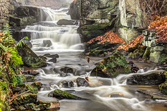 Lumbsdale Falls...IMG_7757.jpg (Katybun of Beverley) Tags: uk autumn waterfall rocks derbyshire peakdistrict hdr lumbsdale