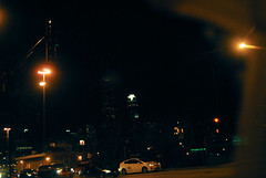 A Glimpse of Downtown Chicago (LexMercedesss) Tags: chicago night lights traffic
