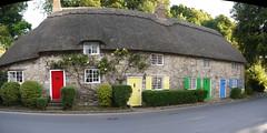 Lulworth Cottages (Worthing Wanderer) Tags: summer sunny september dorset lulworth jurassiccoast southwestcoastpath