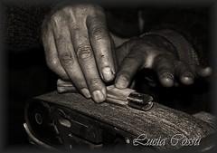 Sapienze. La preparazione del coltello (Lucia Cossu) Tags: canon artigiano barbagia gennargentu desulo lepedda sardegnalamontagnaproduce luciacossu