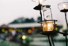 (yttria.ariwahjoedi) Tags: light food film public glass analog canon court indonesia square landscape candle shot ae1 bokeh space social hyper bandung pascal