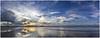Famara Playa (AKfoto.fr) Tags: ocean sunset sea panorama mer beach island soleil coucher playa tamron canaries plage huggins famara 550d lr4