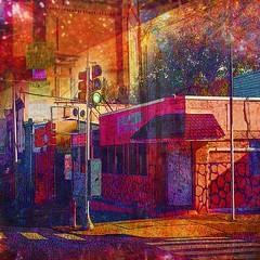 The Corner (brillianthues) Tags: city art philadelphia digital photography colorful vivid badlands awardtree vividimagionation