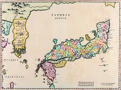 Antique Maps (divinumphoto) Tags: map antiquemapsoftheworld joanblaeu mapofjapan c1655
