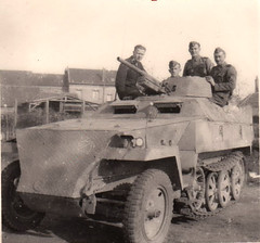 German Sd.Kfz. 251/10 Equipped with a 37 mm Pak 36 anti-tank gun mount. Issued to platoon leaders as a fire support vehicle. (Krueger Waffen) Tags: war tank wwii armor armored waffenss tanks panzer halftrack secondworldwar afv worldwartwo antitank wehrmacht sdkfz251 sdkfz germantank pzkpfw panzerjager panzerjger germanarmor secondworldwartanks worldwartwotanks halftack tanksofthesecondworldwar