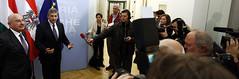 Außenminister Spindelegger empfängt den ungarischen Außenminister Janos Martonyi