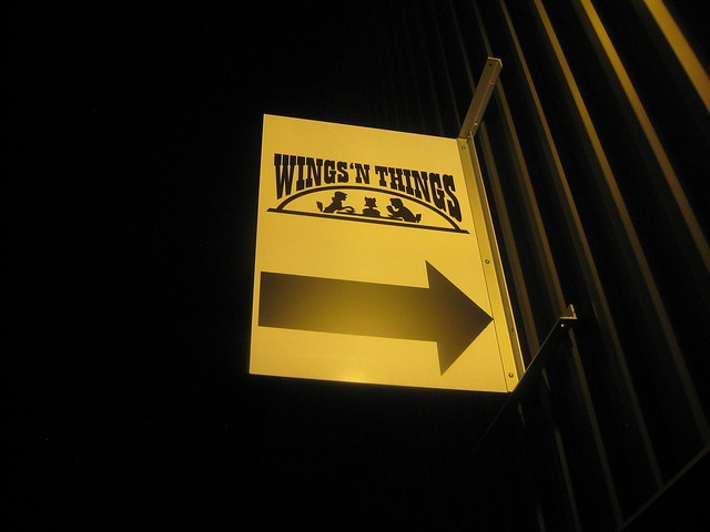 Wings 'N Things Sign