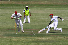 Run Out (Patricia Woods) Tags: out brisbane cricket weetbix runout mycricket wellershillcricketclub weetbixmycricket