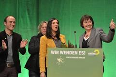 Katrin Gring-Eckart auf der LDK Hagen (gruenenrw) Tags: rot die nrw grn bundestag regierung hagen 90 bund nordrheinwestfalen grne gruene wahl westfalen grnen nordrhein partei rotgrn gruenen bndnis 2013 buendnis
