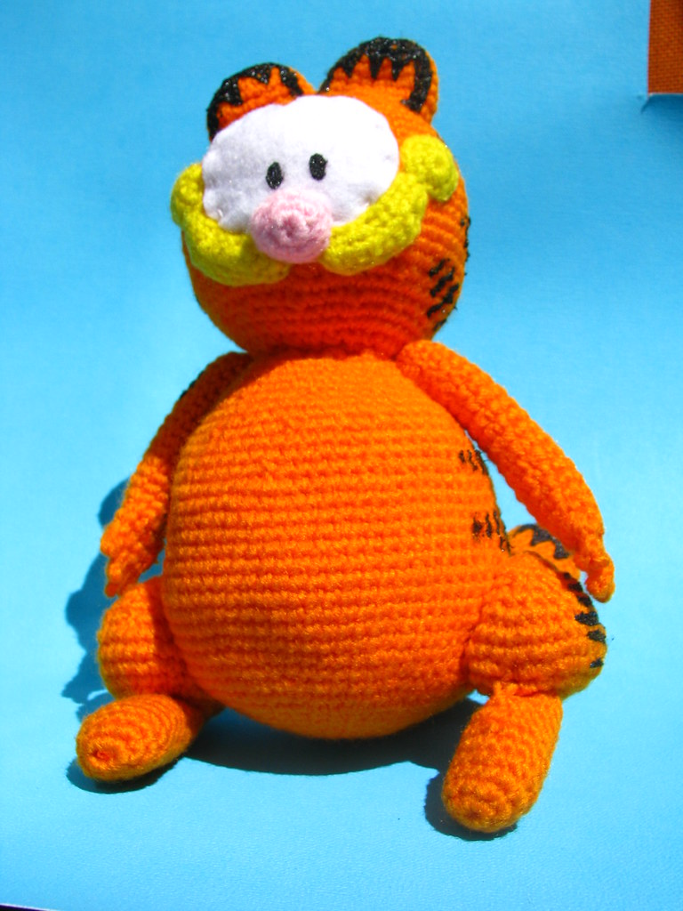 Amigurumi Free Patterns Garfield : The Worlds newest photos by my picuu - Flickr Hive Mind
