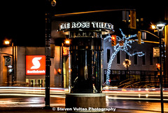 Rose Theatre Brampton Ontario (steven vultao) Tags: city travel ontario canada speed lights nikon slow sound shutter nikkor brampton trafic f3556 18105mm d7000