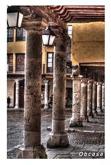 Columnas Tordesillas (Obcasa) Tags: valladolid hdr columna tordesillas