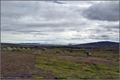Viðlega i Hveravellir (Sigrid von der Twer) Tags: island ísland islandia iceland sigridschmidtvondertwer hveravellir hálendi viðlegaihveravellir campinginhveravellir