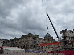 Paradise Demolished (metrogogo) Tags: demolished demolition knockdown paradise birmingam slings crane girders