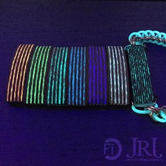 Examples of the Aurora V2 bracelets for the Kickstarter @carbonfi and I are doing.   get yours before the Kickstarter ends! Only a couple more days  As you cans see there is a di (JenniferRay.com) Tags: instagram carbon fiber jewelry exclusive jrj jennifer ray paracord custom