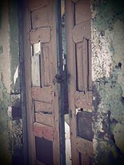 Doorway (davepickettphotographer) Tags: doorway door locked cyclades island islands davepickettphotographer europe eu padlock olympuscamera penf weathered paint old