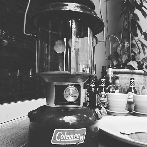 My Saturday morning #Coleman #colemanlantern #lentern #lenterntime #lanternparade