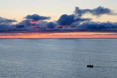 jastrzebia gora blue and orange (kexi) Tags: jastrzebiagora balticsea baltic sea water clouds sky horizon calm boats poland polen polska pologne polonia canon june 2015 blue orange red instantfave