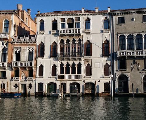 Византийское палаццо в Венеции