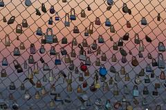 love locks at runyon canyon