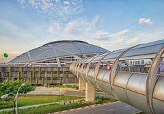 DSC03296-HDR-Edit_LR (teckhengwang) Tags: sports hub kallang singapore national stadium landscape sunrise icon sony a77mkii a77m2 a77mk2 a77mii tamron 1024mm dyxum