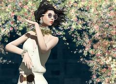 Ghee - Boho (Rehana MiSS SLVietnam, Face of CHOP ZUEY 2015) Tags: secondlife fashion rehana rehanaseljan hunt ghee chopzuey laboheme slink ink posesion