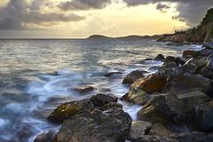 Frenchmans Reef - St Thomas, U.S. Virgin Islands (ericvilendrerphoto) Tags: sunset longexposure waves ocean light water sand rocks rock clouds landscape sea frenchmansreef virginislands stthomas unitedstates usvi sony zeiss carlzeiss sonyzeiss35mm14za 35mm sonya7ii a7ii alpha