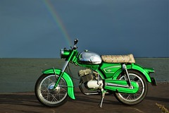Zndapp... (CitroenAZU) Tags: zundapp moped motor motorcycle