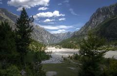valbona valley albania (mariusz kluzniak) Tags: mariusz kluzniak europe balcans albania valbona valley mountains view landscape trees clouds picturesque