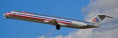 Happy Retirement (Nate Nickell) Tags: americanairlines mcdonnelldouglas md80 airplane plane jet airliner jetliner aircraft airplanespotting planespotting aviation aviationphotography travel transportation flying flight airtravel airtransportation minneapolis minnesota airport