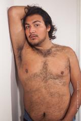 IMG_3458 (DesertHeatImages) Tags: red ravyn reyes latino hispanic phoenix cub bear hairy lgbt pitt bare chest jock thong