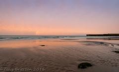 North Beach. (Tony Brierton) Tags: 28513 backstrand beach bray cowicklow dusk harbour pier redsky sea sunset tide water wicklow ireland