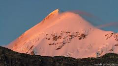 The last shimmer (vyshaks) Tags: travel vacation canon7d canon bluesky mounttrishul orangemountain sunset mountain himalayas hiking trekking roopkundtrek