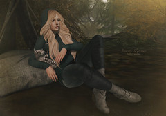 { Be soft } full (Trinetty Skytower) Tags: sl secondlife avatar digital virtual blithe catwa insol addams besom tetra lybra omen revival outdoors cuddles kitty fall autumn photography