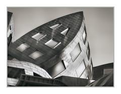 Frank Gehry Building, Lou Ruvo Center for Brain Health, Las Vegas, NV, #51 (Vincent Galassi) Tags: lasvegas nevada usa frankgehrybuilding louruvocenterforbrainhealth nv 51 architecture black white fine art city