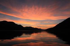 IMG_8238 (Christandl) Tags: weissensee krnten sterreich  st austria autriche altweibersommer herbst sunset lake wasser see sonnenuntergang