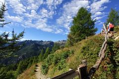Val d'Aosta - Valle di Champorcher: Parco Mont Avic, salendo al lago Muffe' (mariagraziaschiapparelli) Tags: valdaosta valledichamporcher parcomontavic camminata escursionismo allegrisinasceosidiventa montagna mountain cieloenuvole