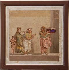 Musici ambulanti - Museo Nazionale - Napoli (spalluzza) Tags: pompei scavidipompei napoli mosaico museoarcheologiconazionale dioscuridedisamo musici casacosdettadicicerone