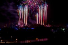 Wishes from Bay Lake Tower - September, 2014 (rowanb73) Tags: disney disneyworld themepark baylaketower wishes fireworks fireworksfriday night