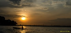 Time for home (melvhsc100) Tags: silhouette seascape sunset sun sky scenery cloud colours boat blue reflection nikon7200 nikon1024mm nightscenery nature