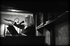 MARJORIE SAISER ~ POET RX01290 (Cyclops Optic) Tags: poet poetry writer omaha bw majoriesaiser