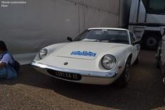 Lotus Europa (Monde-Auto Passion Photos) Tags: auto automobile lotus europa coup blanc france 48h montargis villemandeur domaine lisledon