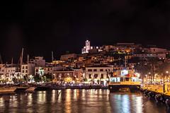 Eivissa nocturna (Porschista) Tags: eivissa ibiza balears port puerto harbour pitiusas nit night noche