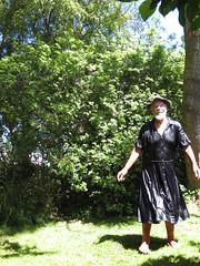 Glistening wet in the sun. (Jack Williams) Tags: wet freestyle dresses soaked wetlook menindresses mandress menstuff wetguy