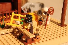 9801 (c.behrens) Tags: christmas david barn joseph star sheep lego maria jesus crib jul betlehem nativity 2012 3wisemen krybbe