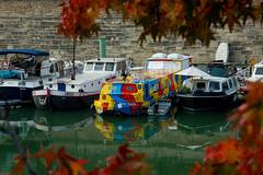 (panichie) Tags: city paris france boat europe lisabelle portedelarsenal